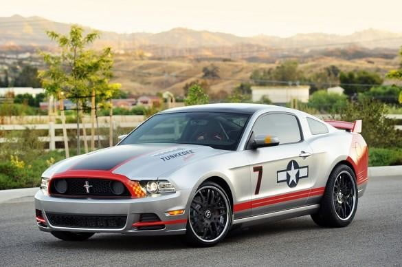 Red Tails Mustang