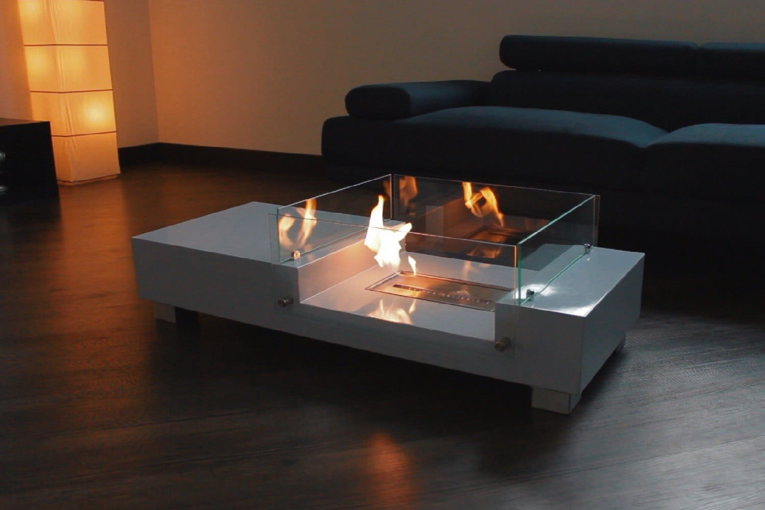 Kickstarter S Fireplace Coffee Table Is So Hot Right Now Digital Trends