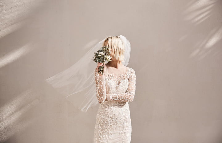 504ec2113e8 Floravere delivers a custom wedding dress to your door for less than  4