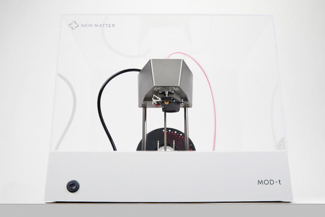New Matter Mod T 3d Printer >> The New And Improved Mod T 3d Printer Isn T Just Better It S