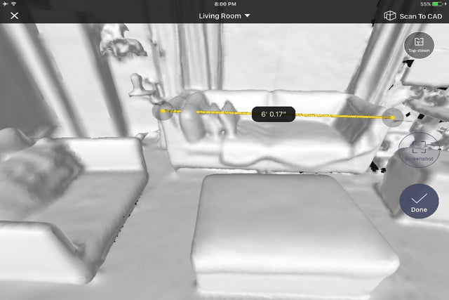 scan measure any room ipad 2 1 point to