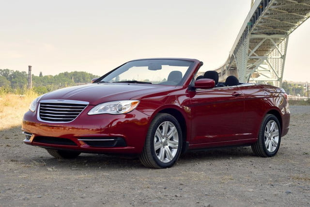 2012 chrysler 200 touring convertible review front side