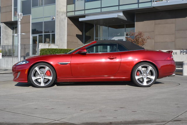 2012 jaguar xkr review top up side