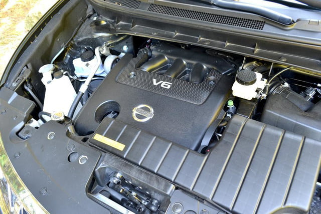 2012 nissan murano sl awd crossover review exterior engine
