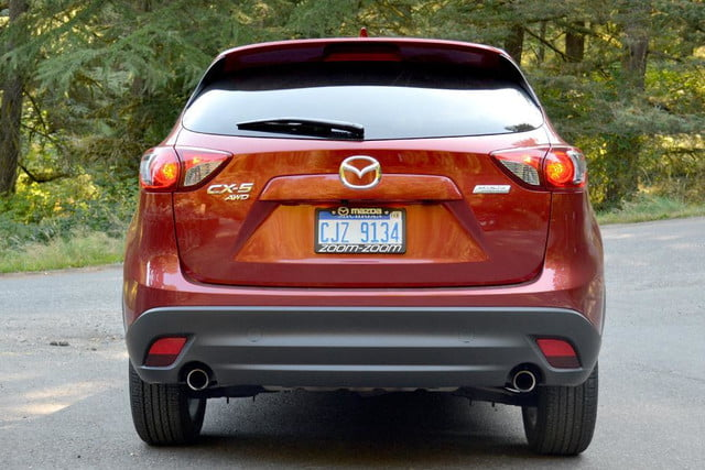 2013 mazda cx 5 review exterior back