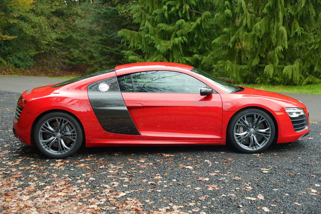 2014 Audi R8 V10 exterior right side