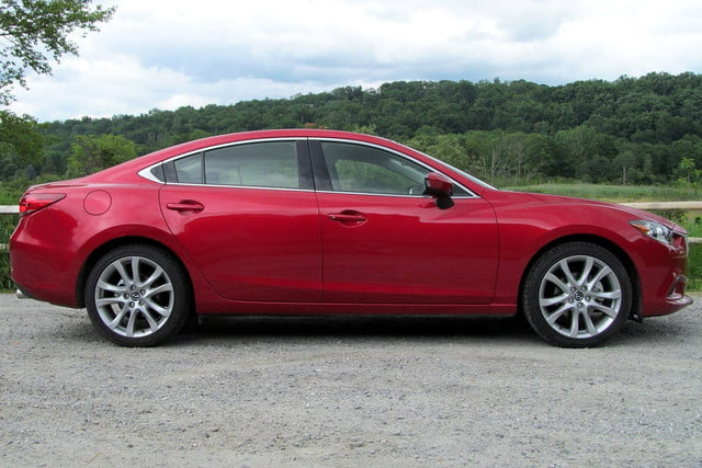 2014 mazda6 i touring review left side