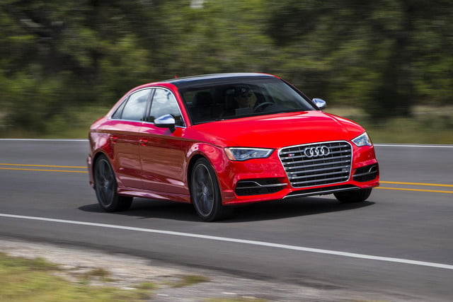 2015 Audi S3 front angle