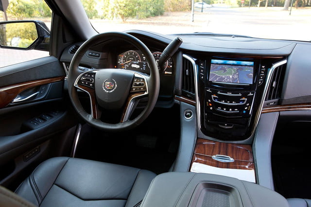 first drive 2015 cadillac escalade drivers copy