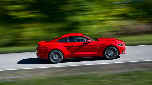 2015 Ford Mustang announcement right