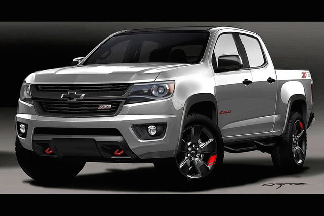 2015-SEMA-Chevrolet-Colorado-Red-Line
