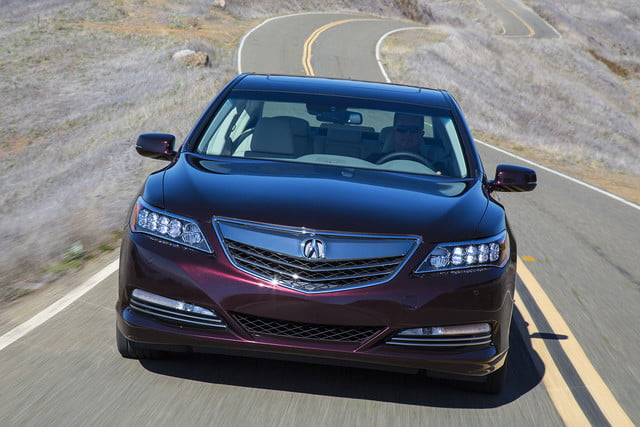 2016 Acura RLX Sport Hybrid driving front 2