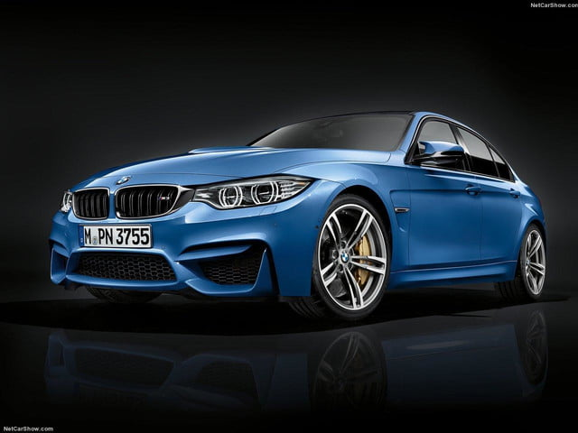2016 BMW M3 front angle