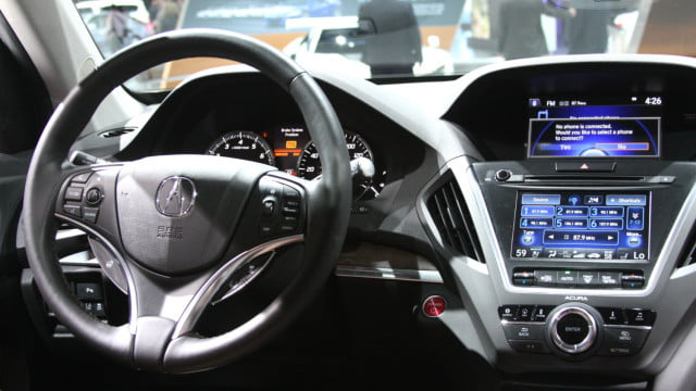 Hummer Gas Mileage >> 2017 Acura MDX Speedometer, is Digital available? - Acura ...