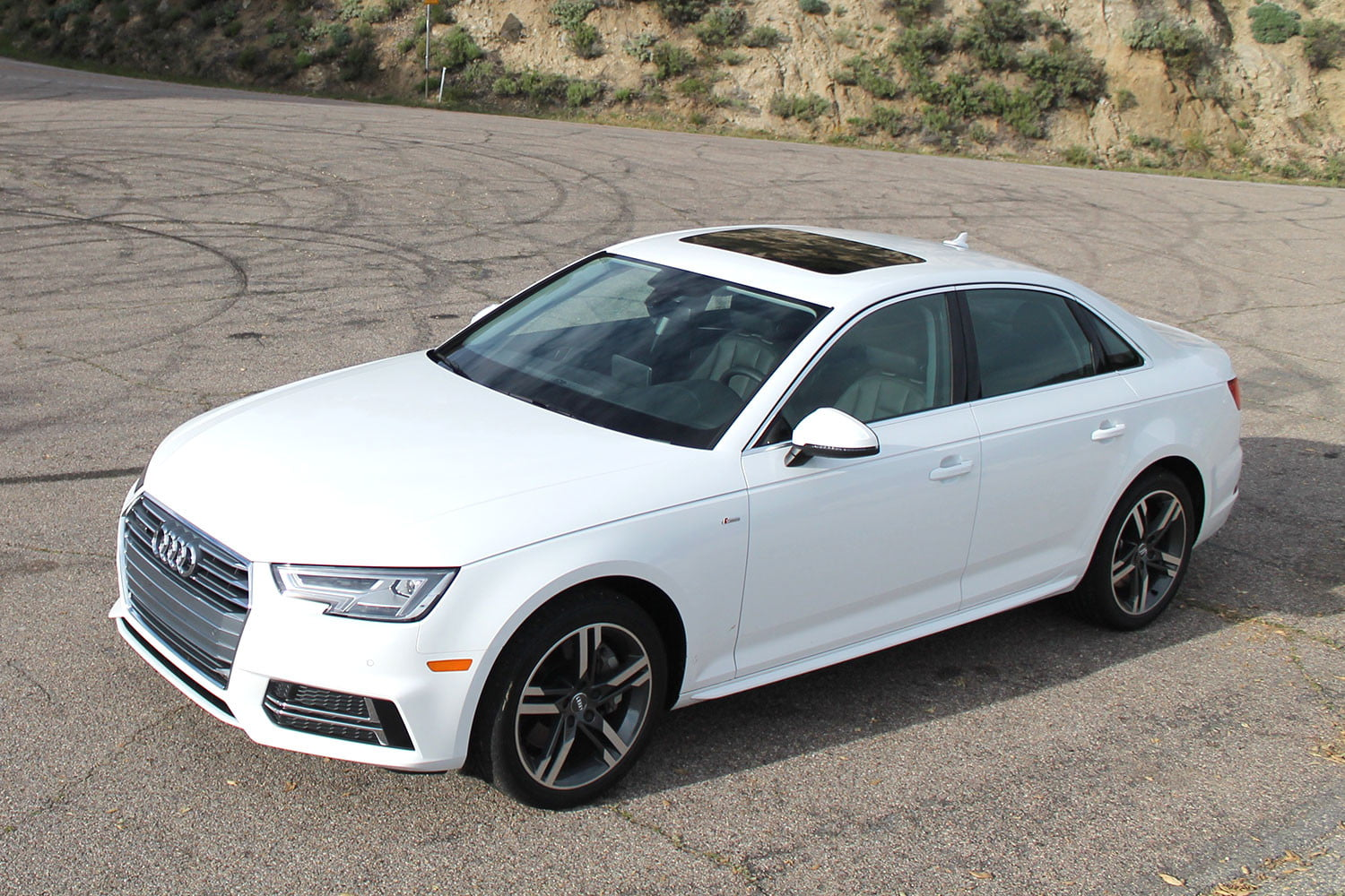 2017 audi a4 first drive pictures specs performance digital trends. Black Bedroom Furniture Sets. Home Design Ideas