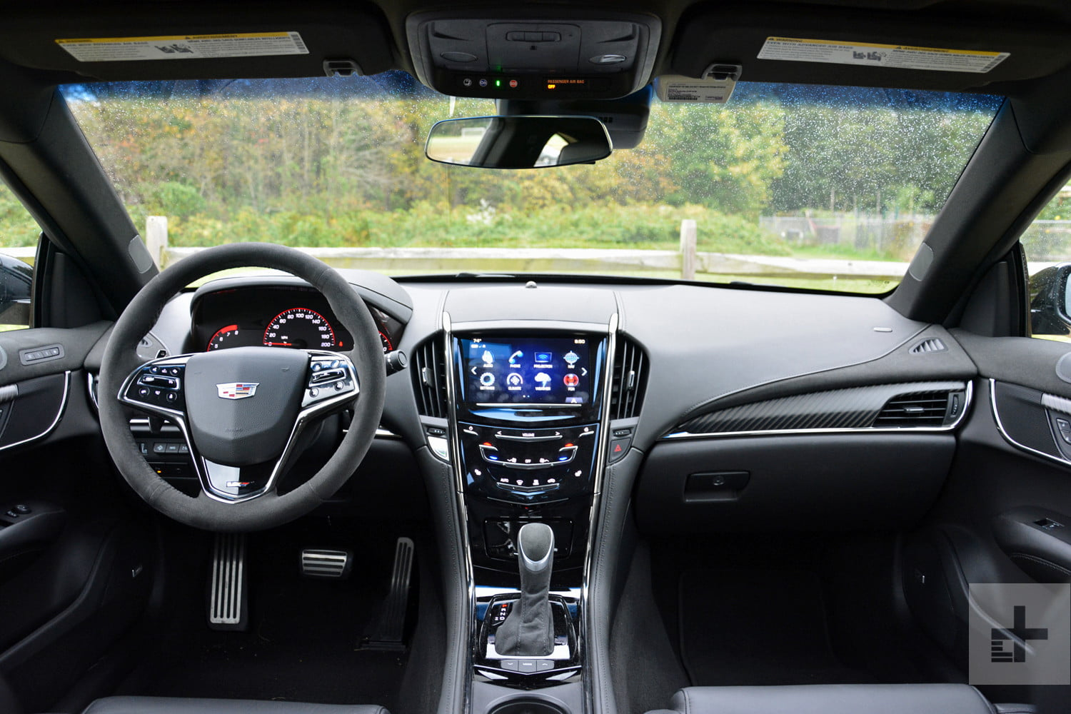 2017 cadillac ats v coupe review performance pictures and more digital trends. Black Bedroom Furniture Sets. Home Design Ideas