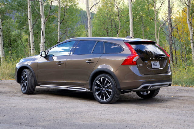 2017 volvo v60 cross country first drive back side angle
