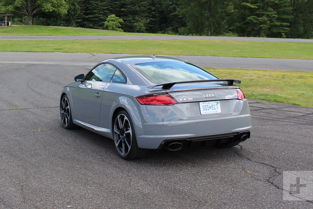 2018 Audi TT RS back top angle