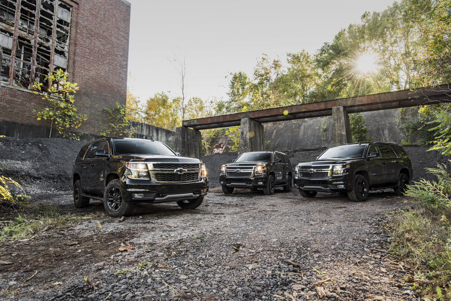 The 2018 Chevrolet Tahoe Midnight Edition Ghost Hunt | Digital Trends