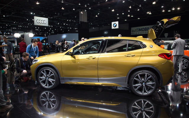 the 2018 bmw x2 takes its official worldly bow in detroit  14
