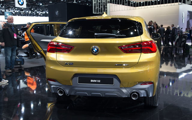 the 2018 bmw x2 takes its official worldly bow in detroit  5