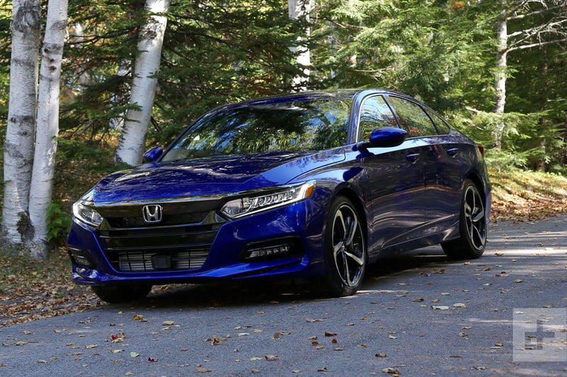 Honda Accord Sport >> 2018 Honda Accord Sport Review Style Performance And Tech