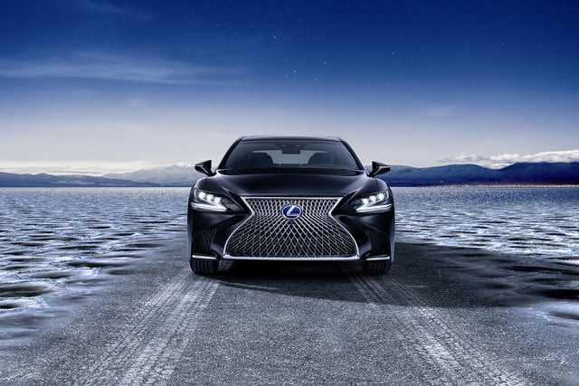 lexus ls may get plug in hybrid ev hydrogen fuel cell variants 2018 ls500h  20