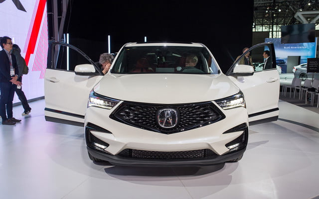 production ready 2019 acura rdx arrives nyc 2018 new york
