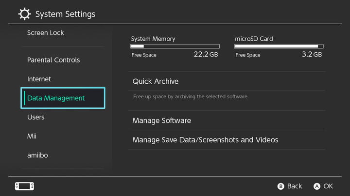 How to Delete, Archive, and Reinstall Games on Nintendo Switch