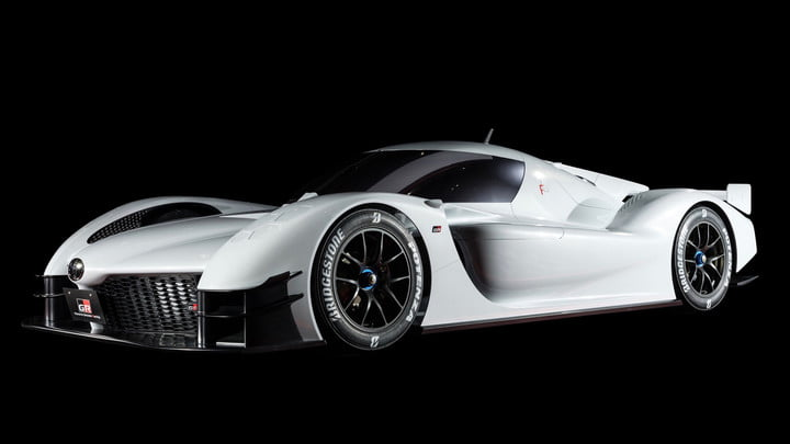 toyota le mans inspired hypercar announcement gr super sport concept