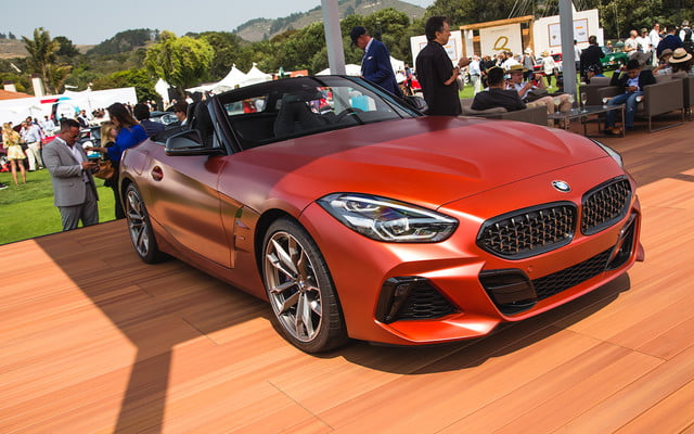 BMW Z Mi First Edition Unveiled At Pebble Beach Digital Trends - Quail car show tickets price