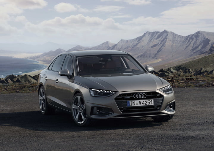 The 2019 Audi A4 is getting a noticeable face-lift, and adding hybrid power