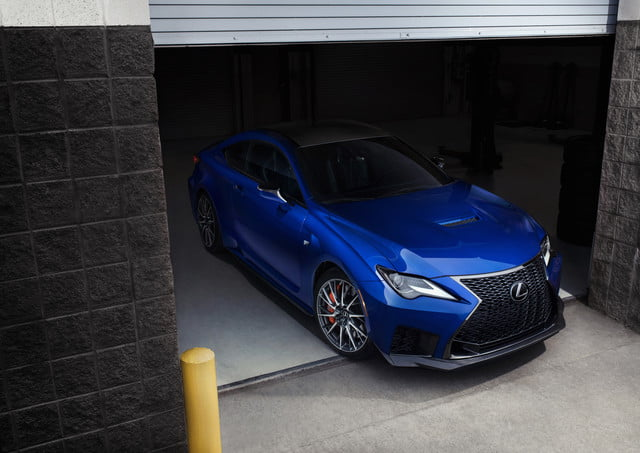 2020 Lexus Rc F Track Edition Arrives With 472 Hp V8