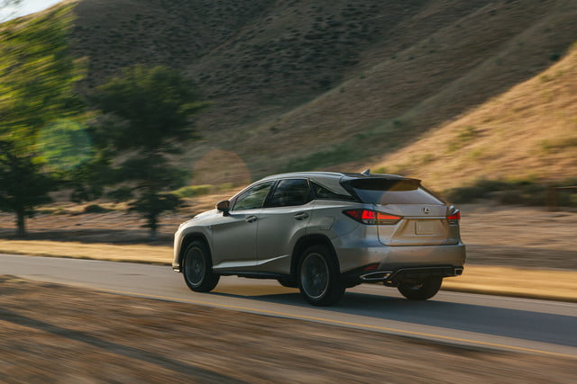 2020 lexus rx gets touchscreen smartphone connectivity official 5