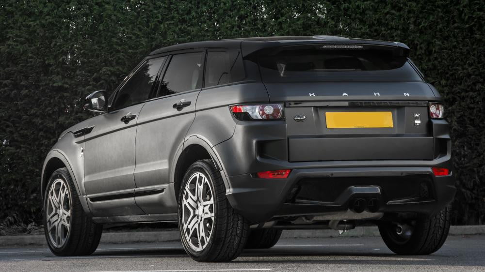 Project Kahn Range Rover Evoque Official Specs And