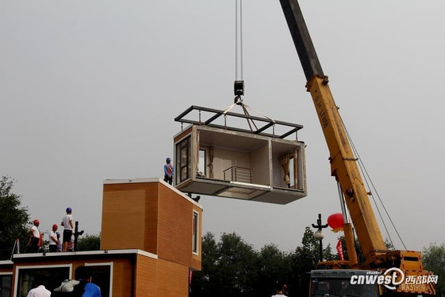 chinese company constructs 3d printed home in three hours 3dprinted2