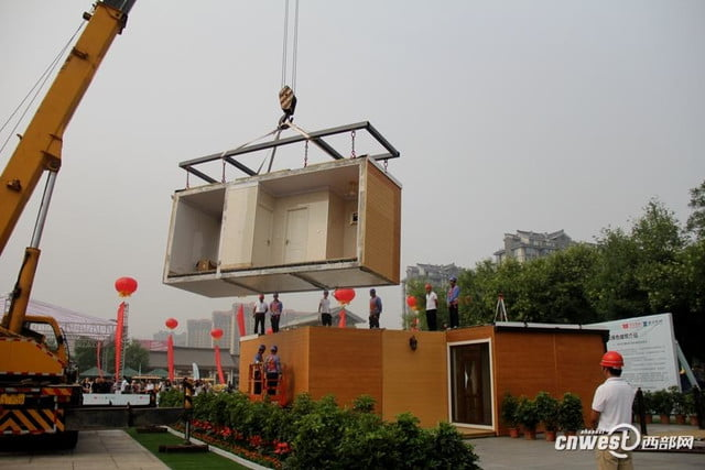 chinese company constructs 3d printed home in three hours 3dprinted3