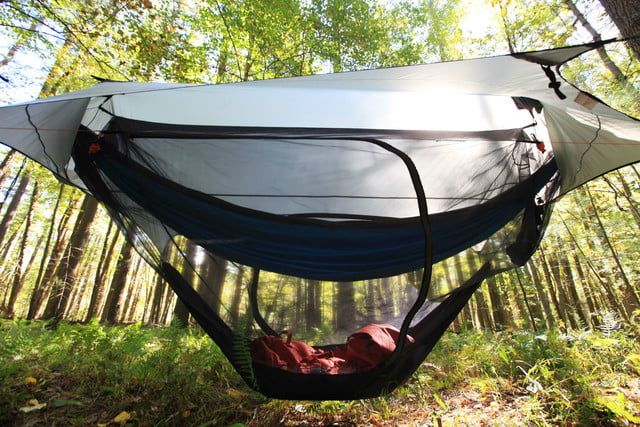 nube stratos modular hammock tent layered protection