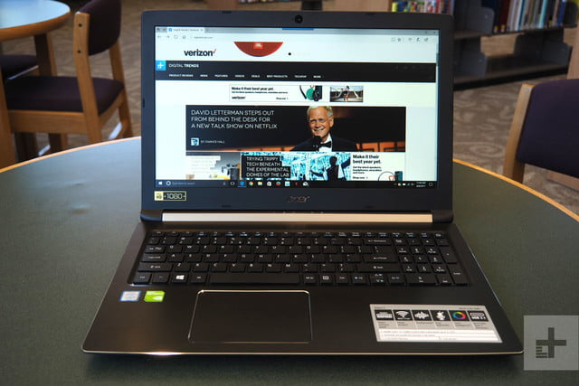 Acer Aspire 5 review front