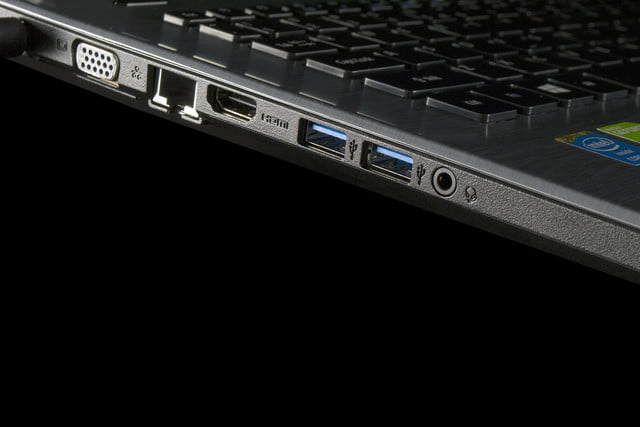 Acer Aspire E5 771G 51T2 side ports