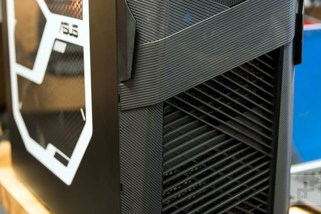 Acer ROG Strix Review front panel