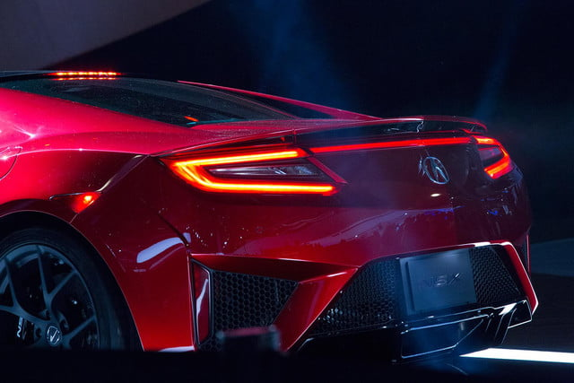 2016 acura nsx official specs pictures and performance reveal das2015 007