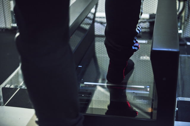 adidas am4nyc shoes are designed with big data made by robots speedfactory lab experience foot scanner 22