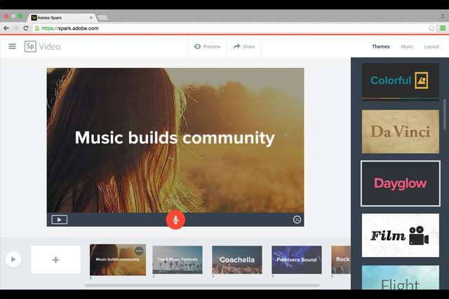 adobe launches spark design apps web 9