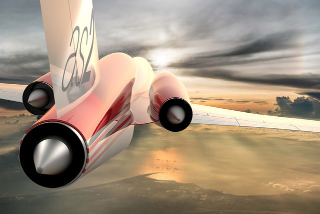 high speed concepts that could mark the return of supersonic travel aerion as2 aerial 2