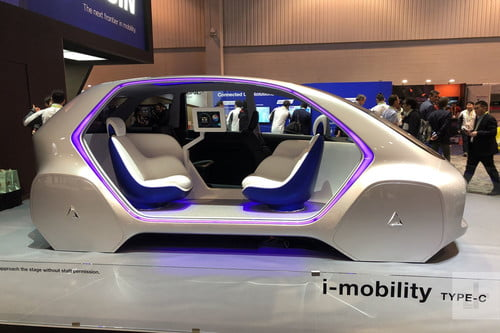 At CES 2019, New Cars Displayed Wild New Tech Features