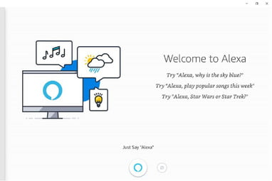 The Alexa App for Windows 10 PCs Now Offers Hands-Free