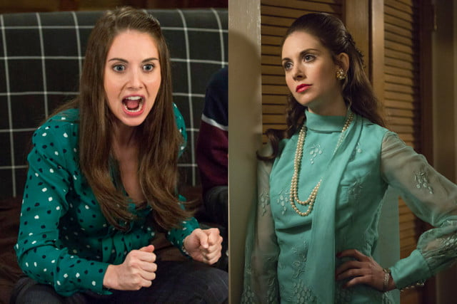 actors two shows same time allisonbrie