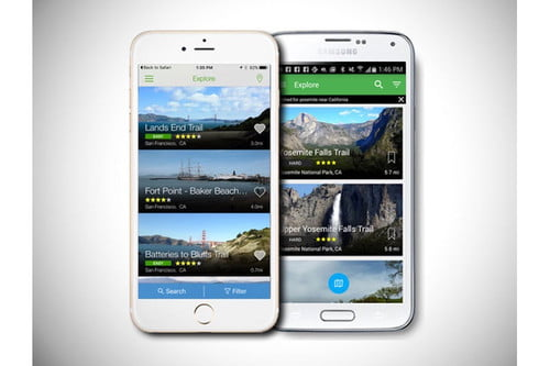 AllTrails Updates App with More Details in New Map Layer