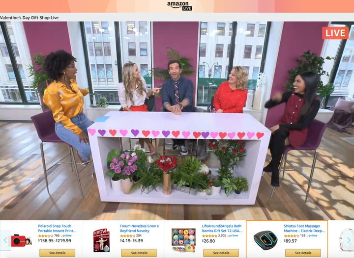 amazon has another shot at a live shopping channel like qvc